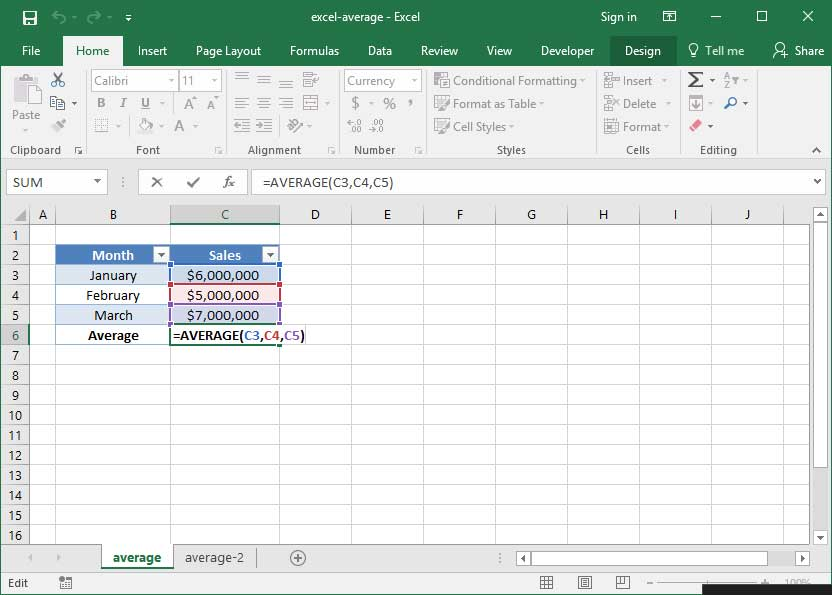 using the average formula in excel deskbright