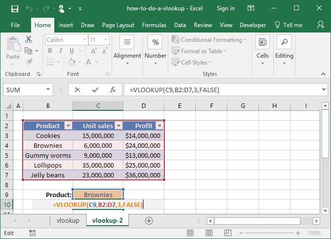 Dynamic VLOOKUP with cell reference